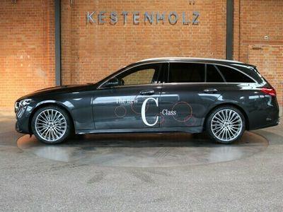 gebraucht Mercedes C220 d T AMG Line