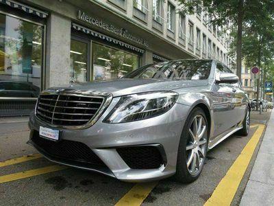 gebraucht Mercedes S63 AMG S-KlasseAMG L 4Matic Speedshift MCT