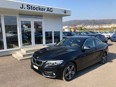 gebraucht BMW 220 d xDrive Sport Line Steptronic