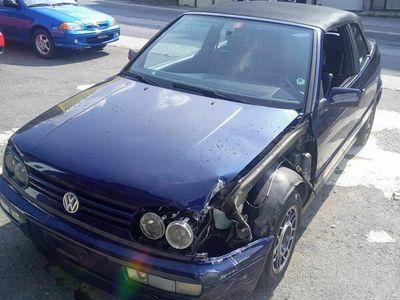 gebraucht VW Golf Cabriolet GT