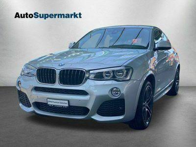 gebraucht BMW X4 xDrive 20d M Sport