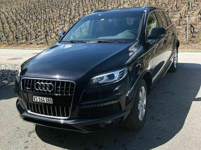 gebraucht Audi Q7 3.0 TDI quattro tiptronic - AHK - S line - 7 Plätze