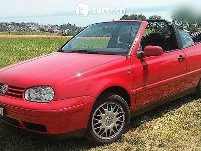 gebraucht VW Golf Cabriolet ZEIT