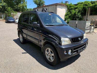 gebraucht Daihatsu Terios 1.3 16V 4x4 BlackPearl