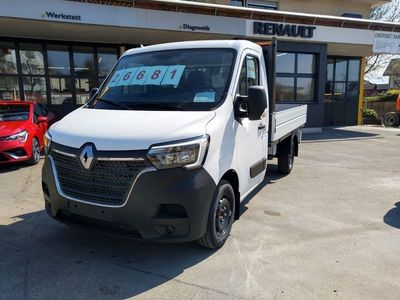 gebraucht Renault Master Pick-up 3.5 t L2H1 2.3 dCi 135 TwinTurbo