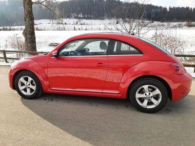 gebraucht VW Beetle 1.2 TSI mit Schiebedach, super Zustand