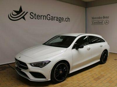 gebraucht Mercedes CLA250 Shooting Brake CLA-Klasse 4M AMG Line