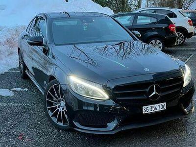 gebraucht Mercedes C300 C-KlasseAMG line