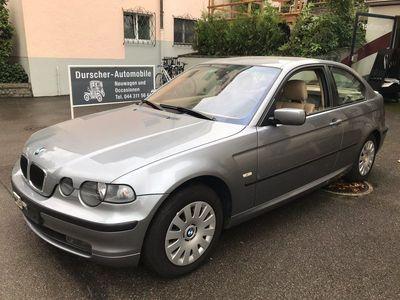 gebraucht BMW 318 Compact 3er Compact Sehr gepflegter ti Automat