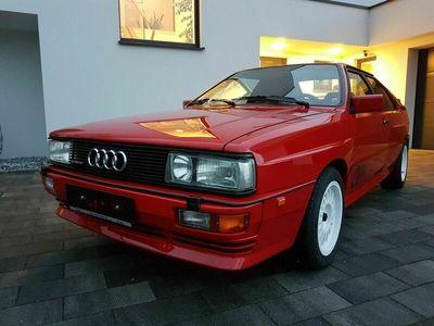 gebraucht Audi Quattro quattro Ur 20V RR rot Teilleder