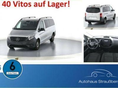 gebraucht Mercedes Vito Tourer 114 CDI Pro Extralang AHK FSE Navi