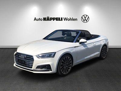 gebraucht Audi A5 Cabriolet 2.0 TFSI Sport quattro S-tronic