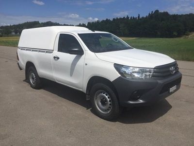 gebraucht Toyota HiLux Single Cab.-Pick-up 2.4 D-4D 150 Luna