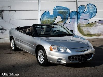 gebraucht Chrysler Sebring Cabriolet 2.7 Frisch ab MFK & Service!