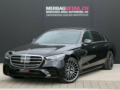 gebraucht Mercedes S400 d L 4M AMGLine 9G-T