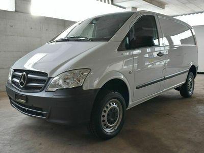 gebraucht Mercedes Vito 113 CDI Blue Efficiency 4Matic A