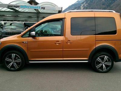 gebraucht VW Caddy Alltrack 2.0 TDI 4Motion DSG