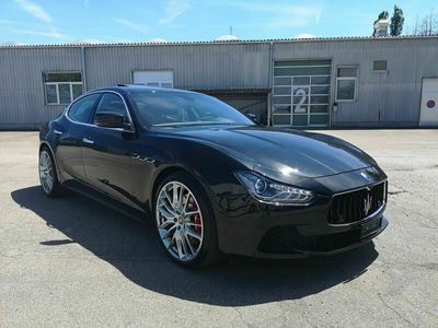 gebraucht Maserati Ghibli S Q4 3.0 V6 Automatica CH-Fahrzeug mit absoluter Vollausstattung!