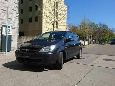 gebraucht Hyundai Getz 1.6, grau-metallic