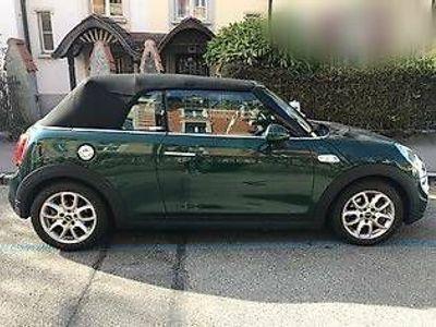 gebraucht Mini Cooper S Cabriolet grün métallisé