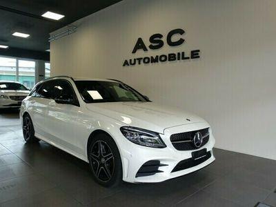 gebraucht Mercedes C220 d Swiss Star AMG Line 4M 9G-Tronic