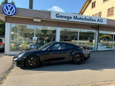 gebraucht Porsche 911 Turbo (991) PDK 521 PS Unique Black/Cocoa mit Fo