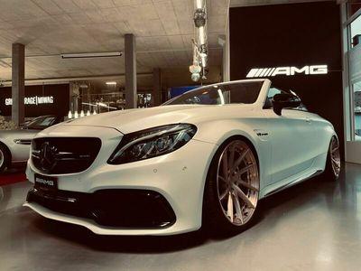 gebraucht Mercedes C63 AMG Cabriolet AMG Speedshift