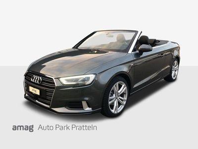 gebraucht Audi A3 Cabriolet 1.5 TFSI Sport S-tronic