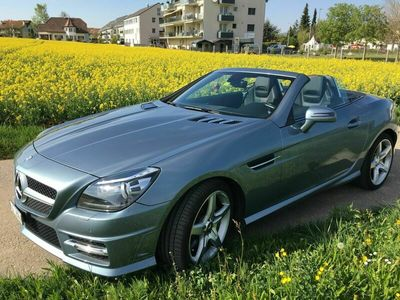 "gebraucht Mercedes SLK200 E-Klasse ""MerzedesBlueEff Cabrio. (AMG Packet)"""