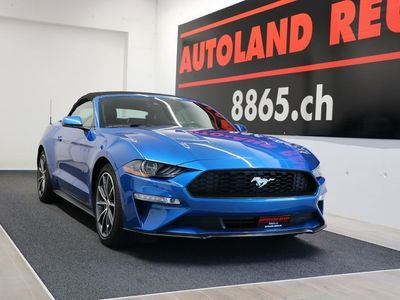 gebraucht Ford Mustang 2.3 Eco Boost Cabrio MY 2019