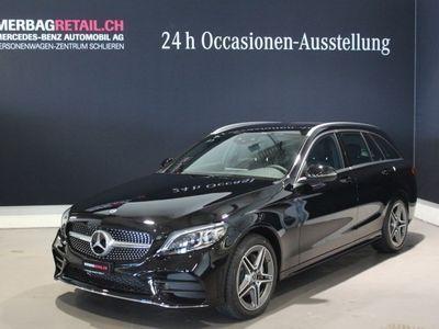 gebraucht Mercedes C220 d AMG Line 4Matic 9G-Tronic