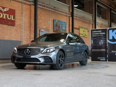 gebraucht Mercedes C200 Swiss Star AMG L.4M