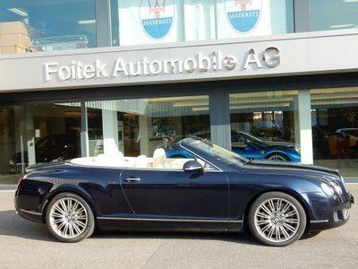 gebraucht Bentley Continental GTC Speed 6.0