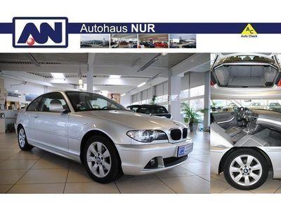 gebraucht BMW 318 CI COUPE 1.HD.PDC NAVI KLIMAAUT.M LEDERLENKRA
