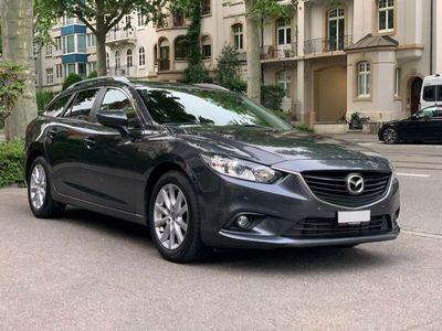 gebraucht Mazda 6 Sportwagon Kombi 2.2 D 16V Business Automatic + MFK