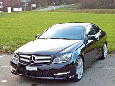 gebraucht Mercedes C180 C-Klasse Mercedes BenzCoupe AMG Line frisch ab MFK
