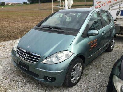 gebraucht Mercedes A170 Avantgarde