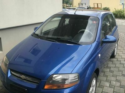 gebraucht Chevrolet Kalos 1200 blau 8-fach Bereifung