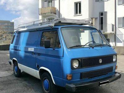 gebraucht VW T3 Typ 2 T3 Camper mit Charme, ab MFK, inkl. grosszügiger Ausstattung Typ 2Camper mit Charme, ab MFK, inkl. grosszügiger Ausstattung