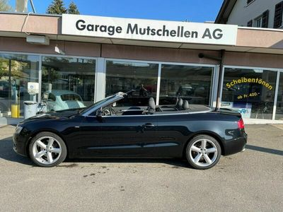 gebraucht Audi A5 Cabriolet  2.0 TFSI multitronic S-Line Sportpaket All Black CH-Auto 82% unter NP
