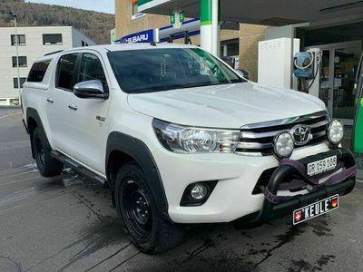 gebraucht Toyota HiLux DCab.-Pup 2.4 D-4D 150 Sol