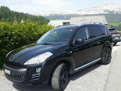 gebraucht Peugeot 4007 2.2 HDi 4x4 Platinum Edition (7-Plätzer)