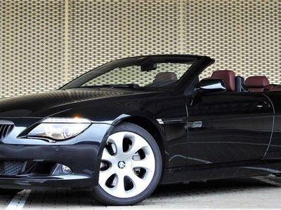 gebraucht BMW 635 Cabriolet 6er d Steptronic 59'000km 05.2010