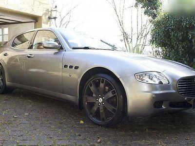 gebraucht Maserati Quattroporte '06 - Sportlimousine im top Zustand