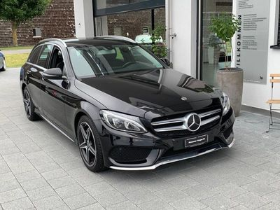 gebraucht Mercedes C220 C-Klassed AMG Line 9G-Tronic