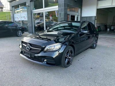 gebraucht Mercedes C300 C-Klassed AMG Line 4Matic 9G-Tronic