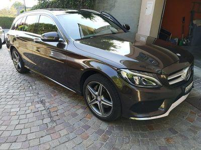 gebraucht Mercedes C200 C-KlasseAMG Line 4Matic 7G-Tronic