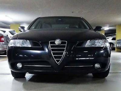 gebraucht Alfa Romeo 166  V6-3.2-24V, Schwarz, Leder beige, alle Extra
