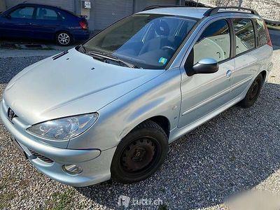 gebraucht Peugeot 206 1,6 i