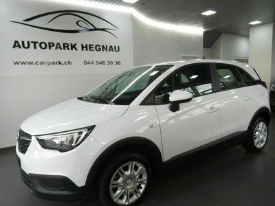 gebraucht Opel Crossland X 1.2i Enjoy Automatik